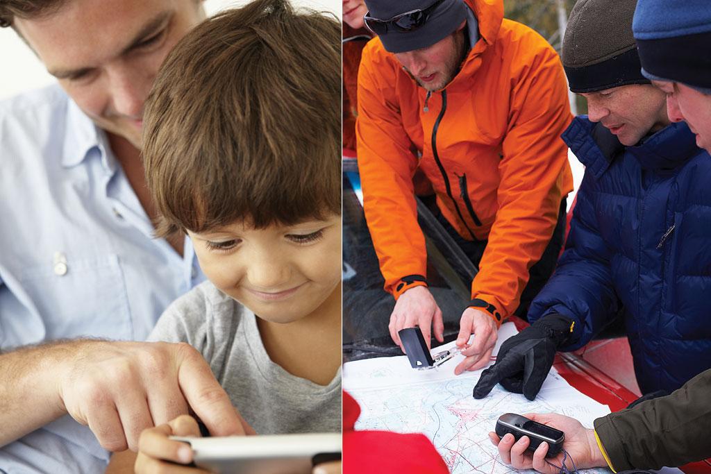 mobile schatzsuche für kinder